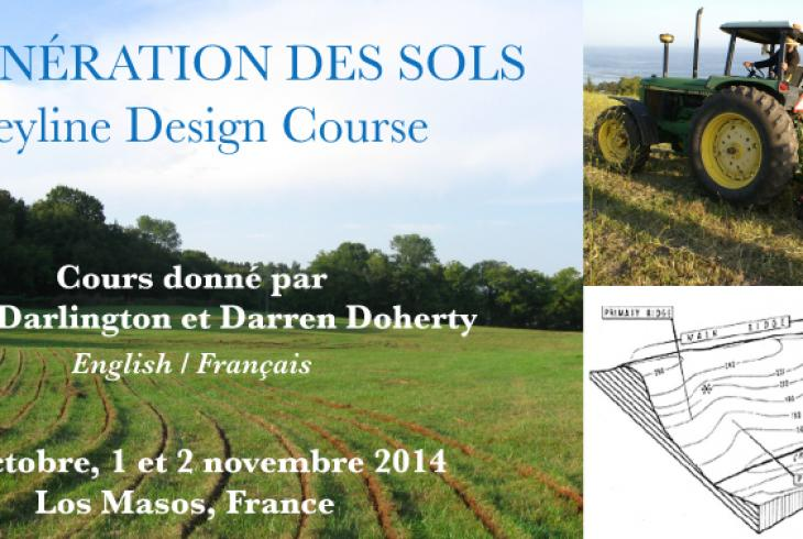 Keyline Design Course - 31 Octobre, 1 et 2 Novembre 2014